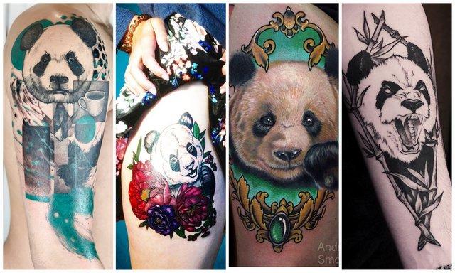 Значенеи татуировки панда