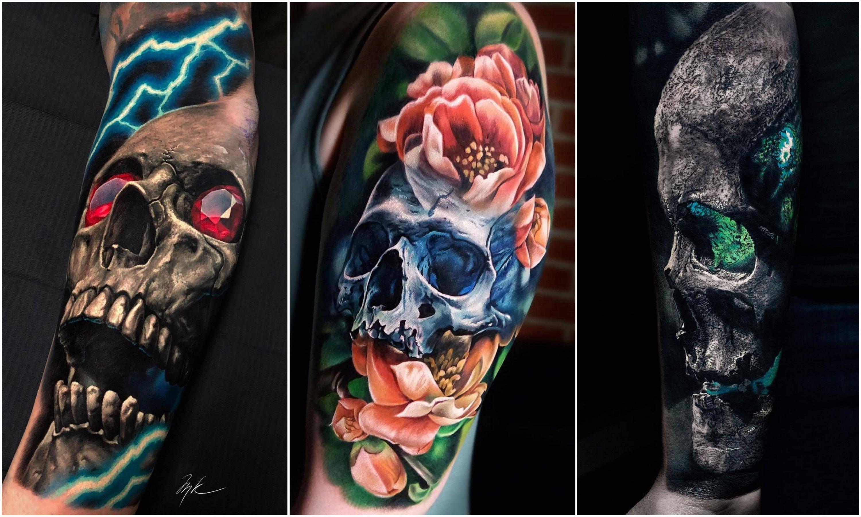 Значение тату череп - tattooha.com