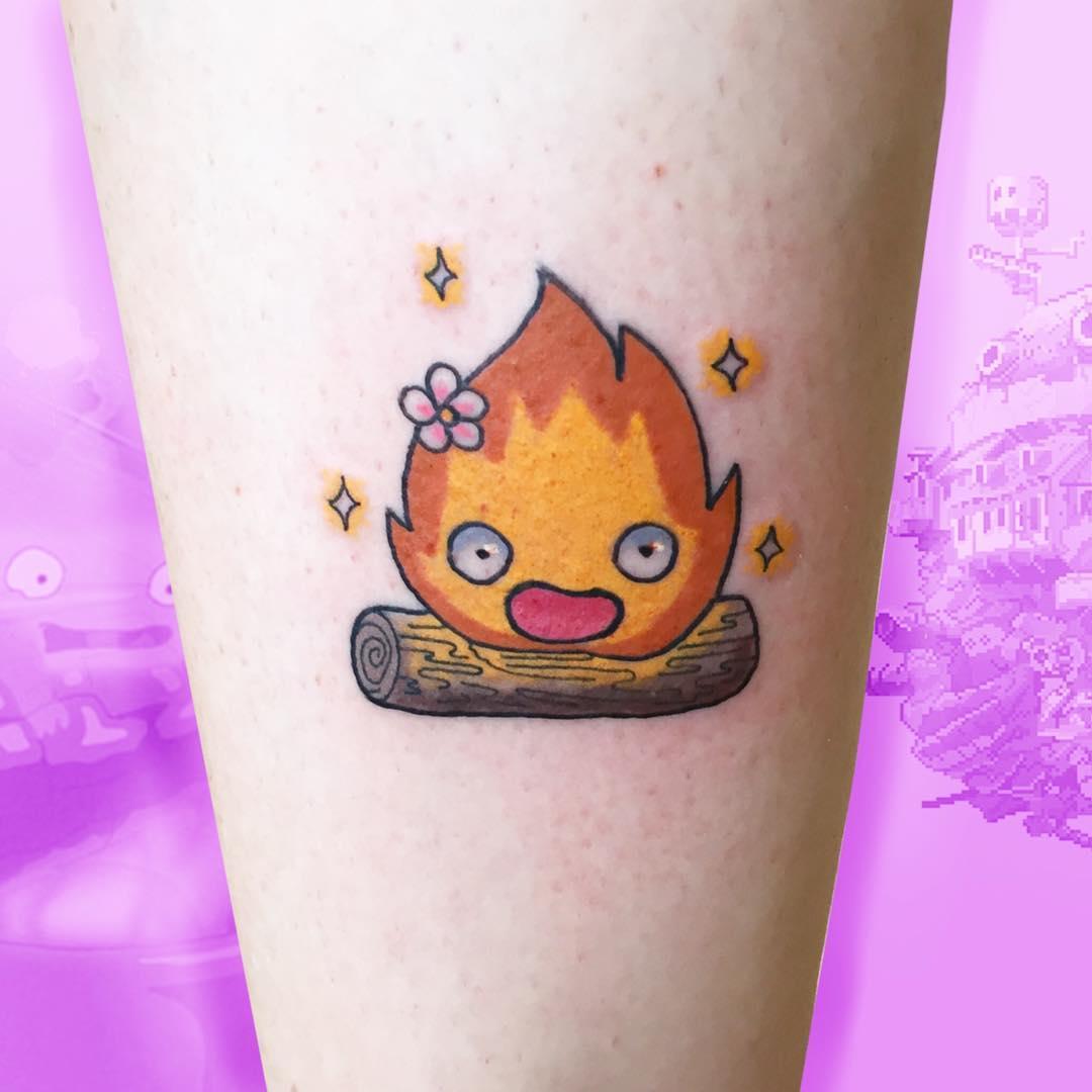Маленькая Татуировка Персонажа из Аниме