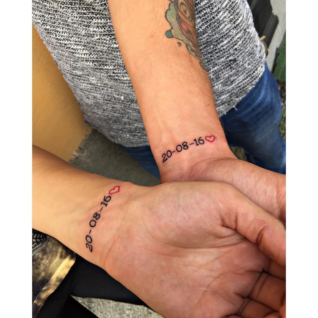 Татуировка Даты на Руке