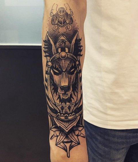 Египетские татуировки, богов, мумий, иероглифов, символов, кошек