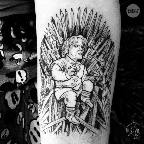 Тату Игра Престолов,Game of Thrones, Старк, Зима близко, драконорожденная, драконы, персонаж