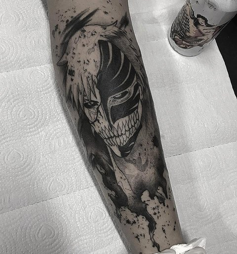 Татуировки аниме персонажей для парней и девушек
