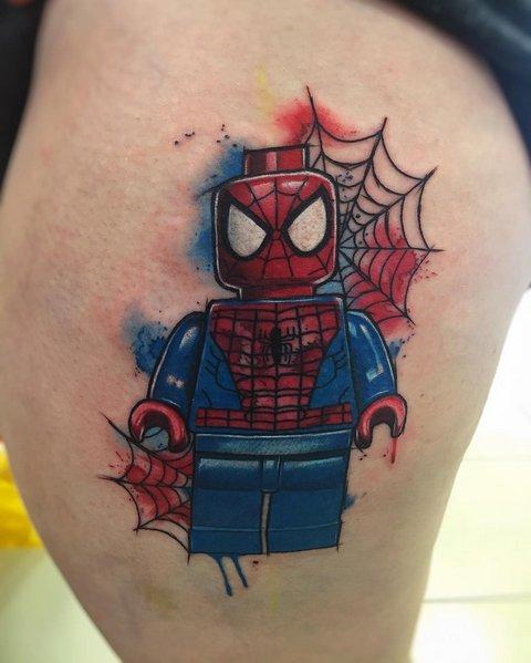 Значение татуировки человек паук