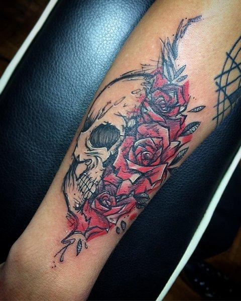 Что означает татуировка розы? Значение тату роза у мужчин и девушек