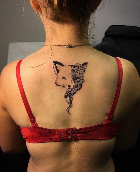 Что значит татуировка лиса? Значения на зоне, для мужчин и женщин
