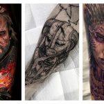 Игровые татуировки для геймеров: 75 фото