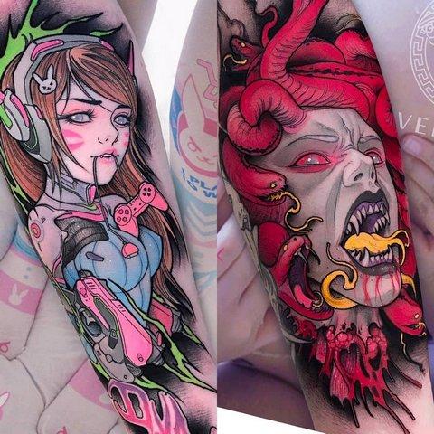 Игровая тату