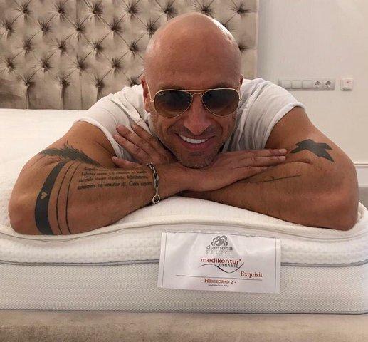 Татуировки Дмитрия Нагиева на руках