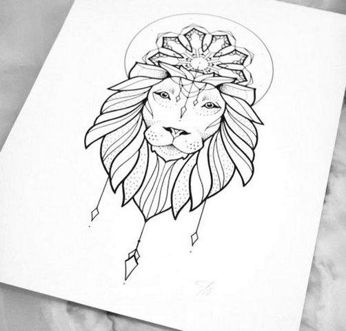 Лев с короной