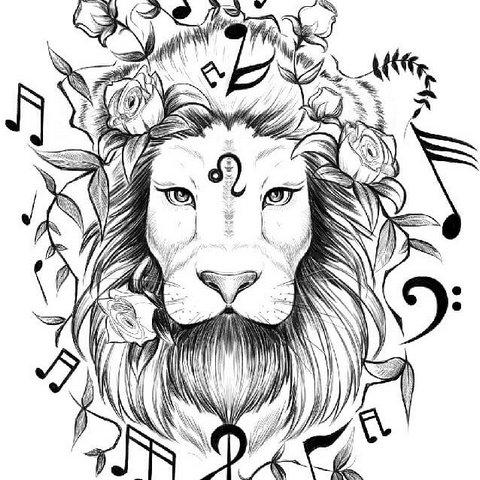 Музыкальный лев