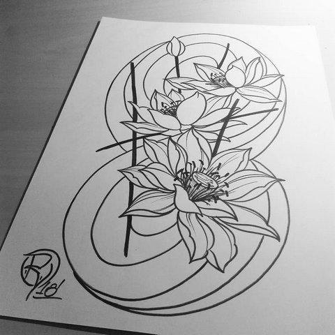 Цветки Лотоса в Восьмерке