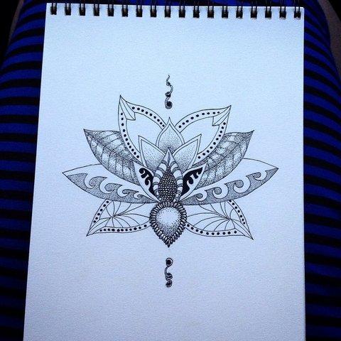 Странный Цветок Лотоса