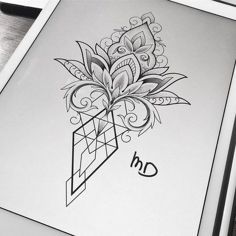 Элегантный Цветок Лотоса