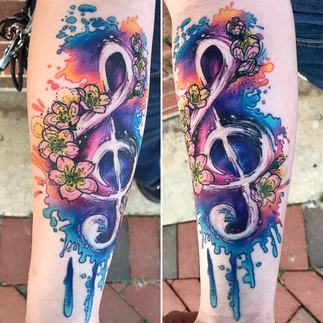 Музыкальная Тату и Цветки Сакуры