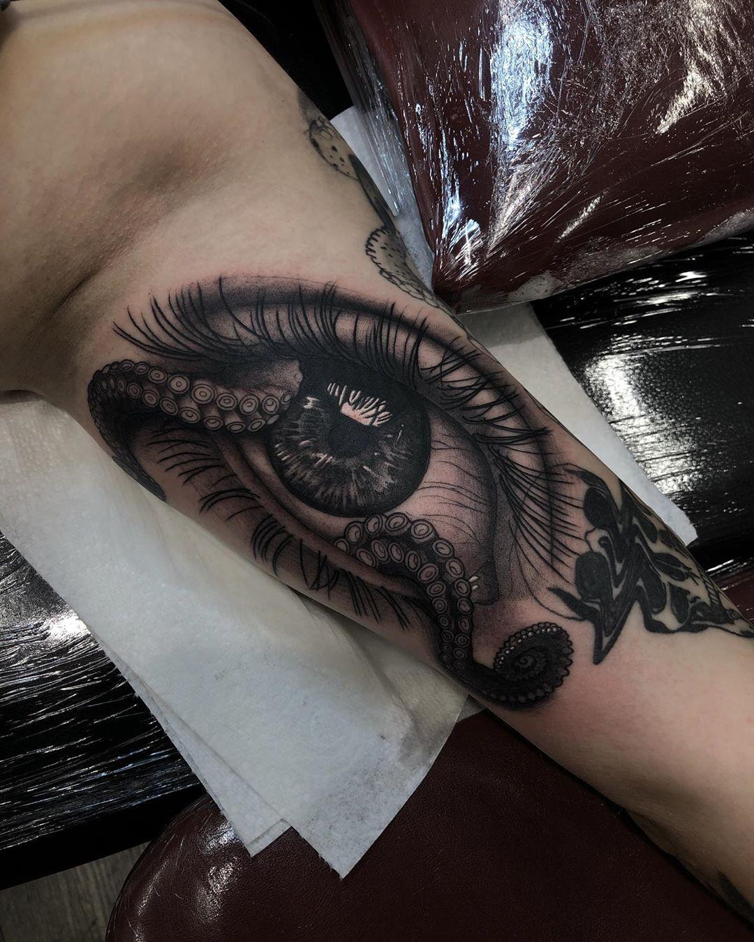 Рисунок Глаза и Щупальца