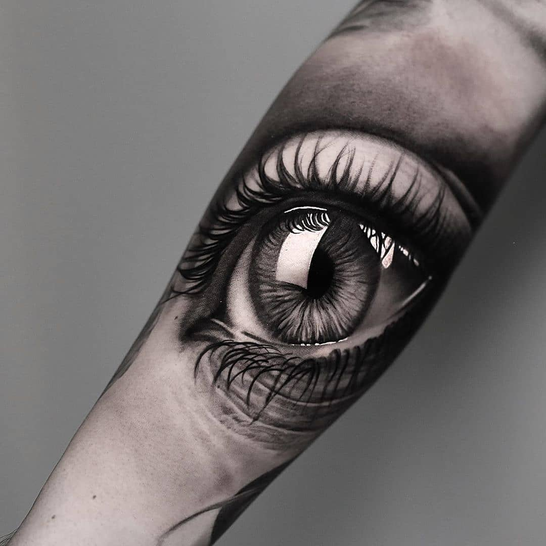 Красивый Рисунок Глаза на Руке