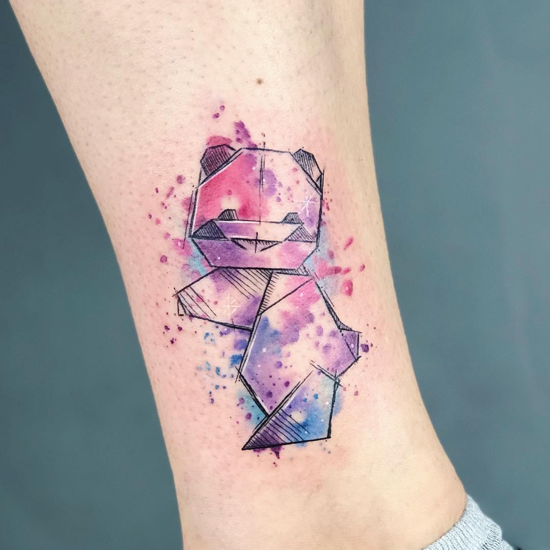 Татуировка Панды на Руке