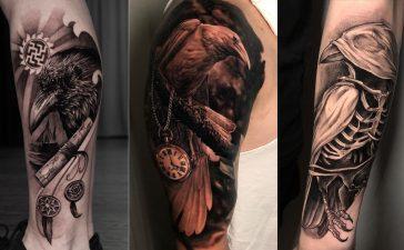 Значение Татуировки Ворона