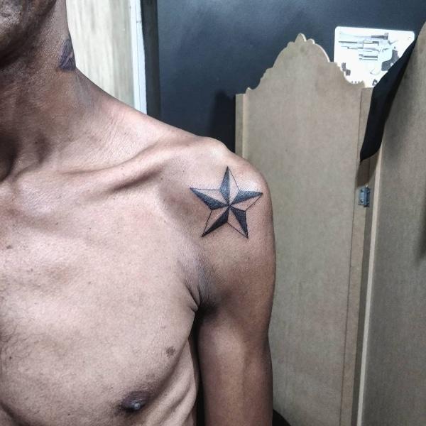 Татуировка Звезда на Зоне