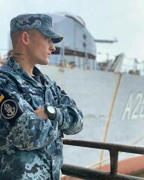 Солдат с Татуировкой
