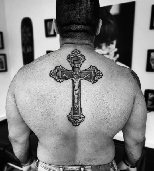 Большая Татуировка Православный Крест